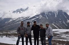 L to R - Milind, Kapil, Afshan, Saten & myself :: PC : Rohit