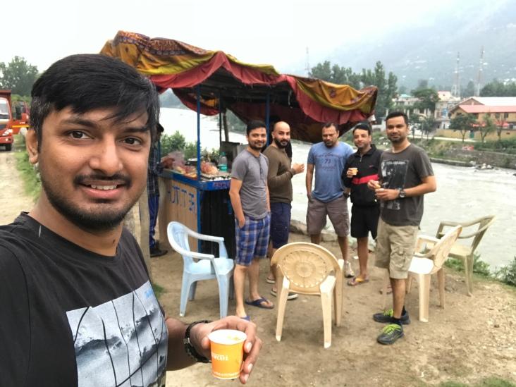 Last Tea on the road to Delhi