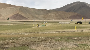 Cricket at 15000Feet