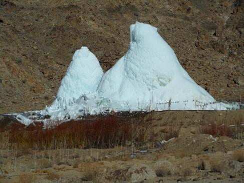 The Ice Stupas