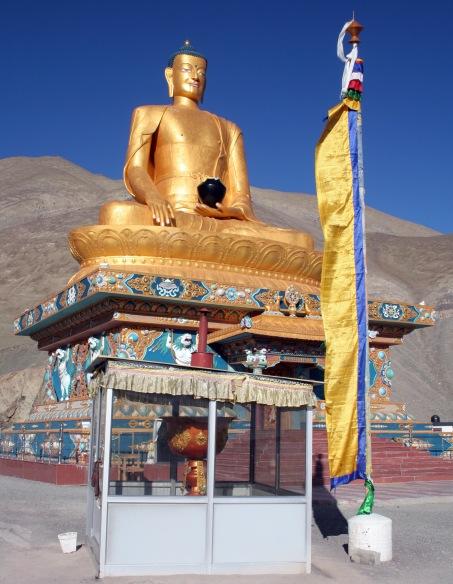 The Budha Statue at Stok