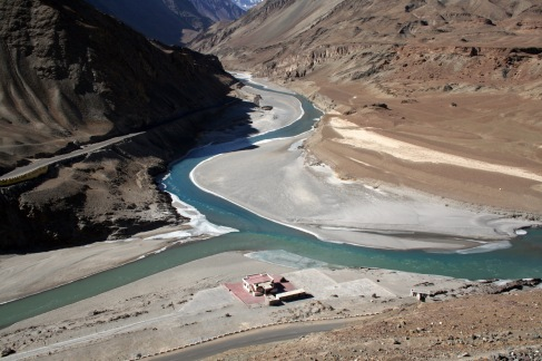 Indus-Zanskar Confluence